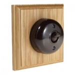 Bakelite Switches Light Oak