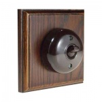 Bakelite Switches Dark Oak