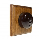 Bakeite Switches Medium Oak