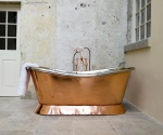 Hammered Copper & Nickel Baths