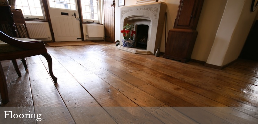 Solid wood flooring - solid oak, engineered oak and distressed pine flooring.