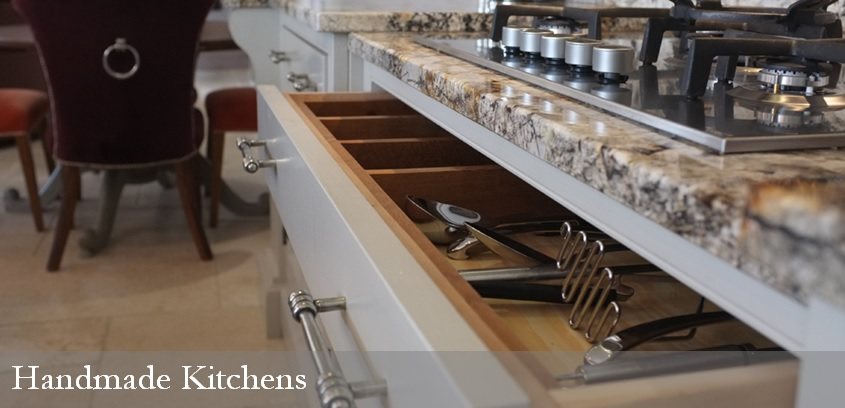 Bespoke Kitchens - Photo Gallery of completed handmade kitchens.