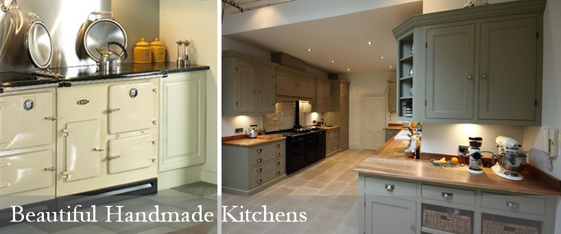 Kitchens - Beautiful bespoke handmade fitted and freestanding kitchens.