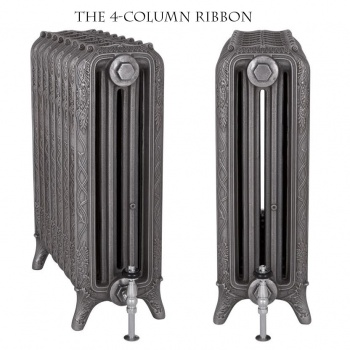 Cast Iron 4 Column Ribbon Radiator - Coming Soon