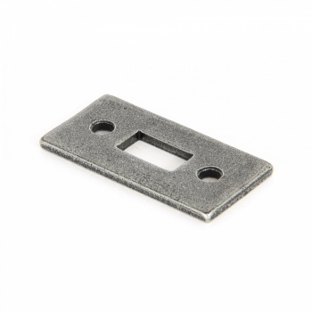 Pewter Receiver Plate - Large (suitable for 6'' Cranked Bolt)