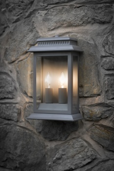 Belvedere Lamp Charcoal
