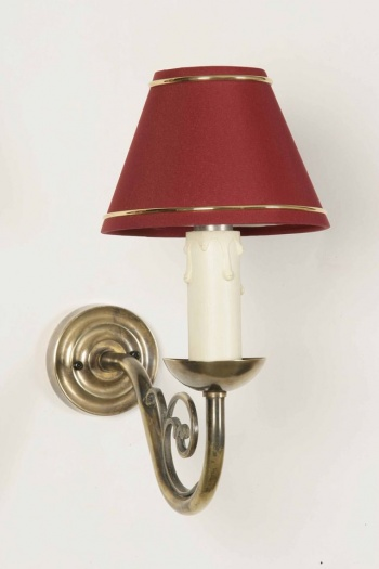 Cream Candle Wall Lights : Cottage Wall Light