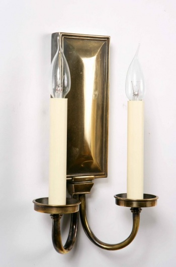Georgian Twin Wall Sconce