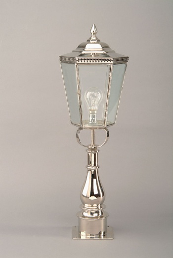 Nickel Chelsea Pillar Lamp