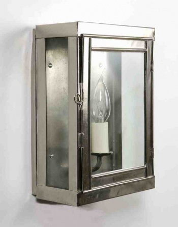 Nickel Oxbridge Wall Lantern