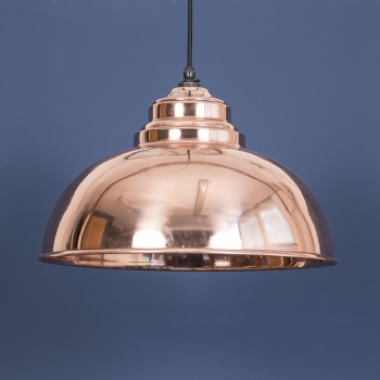 The Harborne Pendant - Smooth Copper