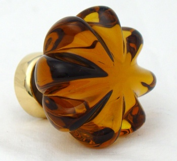 Daisy Glass Cupboard Knobs