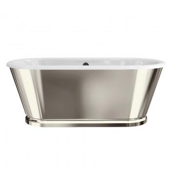 Arcade Bathrooms - Albermarle Free Standing Bath With Nickel Finish