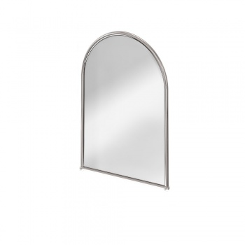 Burlington Bathrooms Arched Aluminium Mirror
