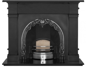 The Cherub Cast Iron Fireplace Package