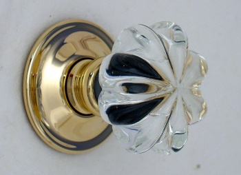 Daisy Glass Door Knobs