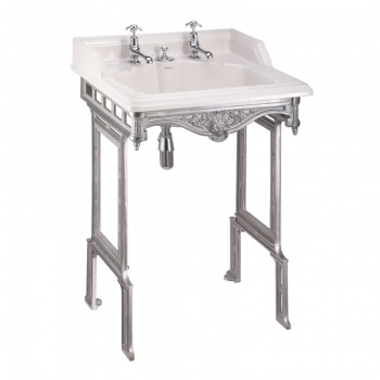 Classic Burlington Basin and Washstand - Invisible Overflow
