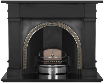 The Kensington Cast Iron Fireplace Package