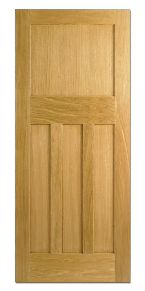 Traditional oak internal doors 1930 39 s solid for Fire door design uk