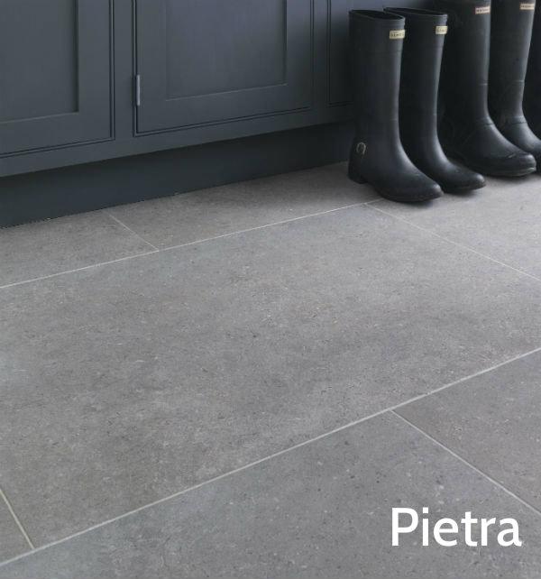 Isle Natural Finish Pietra Porcelain Floor Tile