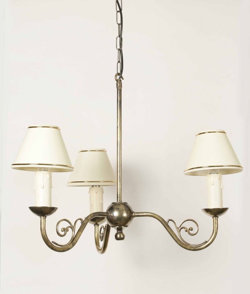 Traditional Cottage Wall Lights : Cottage Wall Light 3 Arm