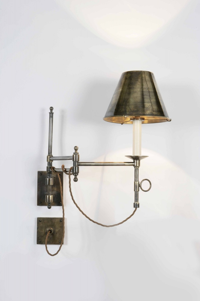 Wall Lights Scandinavian : Library Swing Arm Wall Light