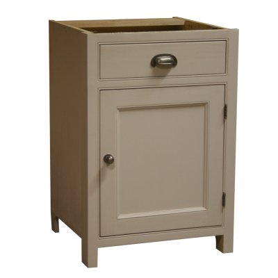 Fitted kitchen 1 door 1 drawer base unit 600 for Fitted kitchen dresser unit
