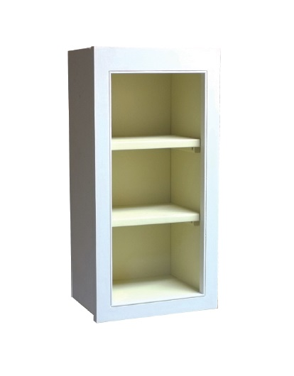 Fitted kitchen 400 open wall unit for Fitted kitchen drawer unit
