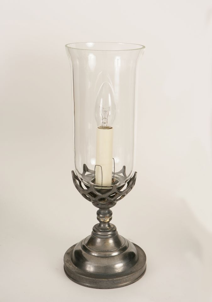 Small Gothic Table Lamp Glass Included