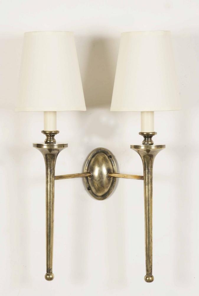 Twin Fixed Wall Lights : Twin Grosvenor Wall Light