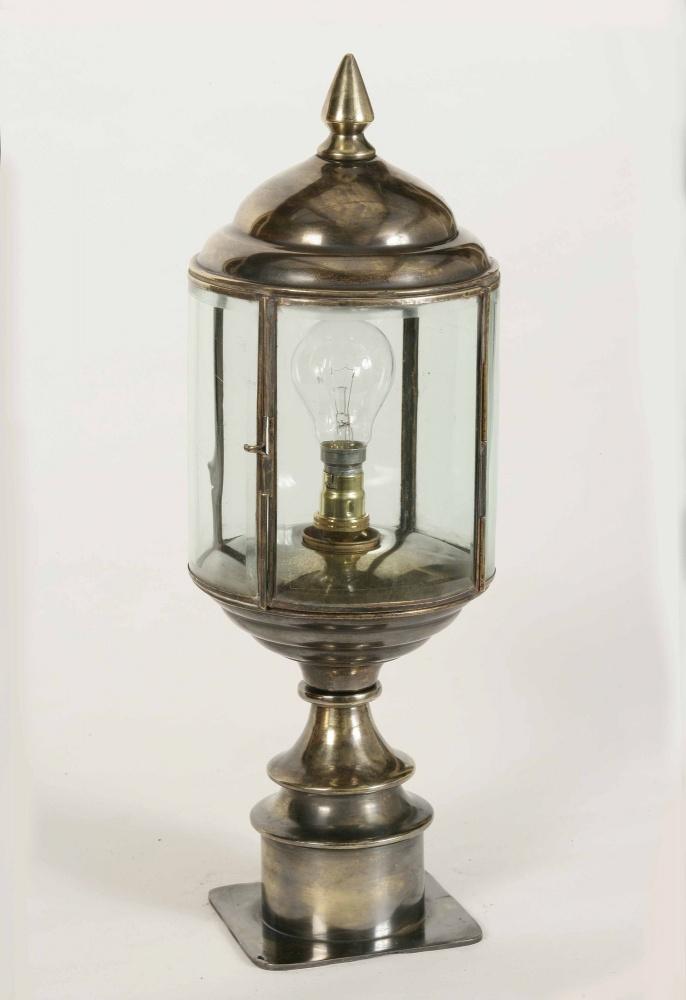 Handmade Brass Wall Lights : Wentworth Short Pillar Lamp