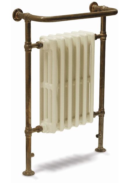 Broughton Heated Towel Rail Copper