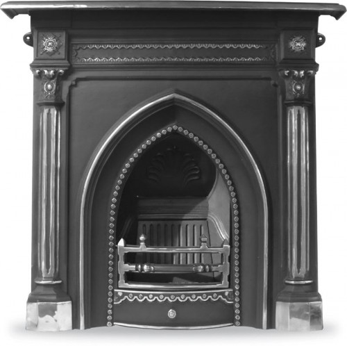 The Gothic Cast Iron Fireplace