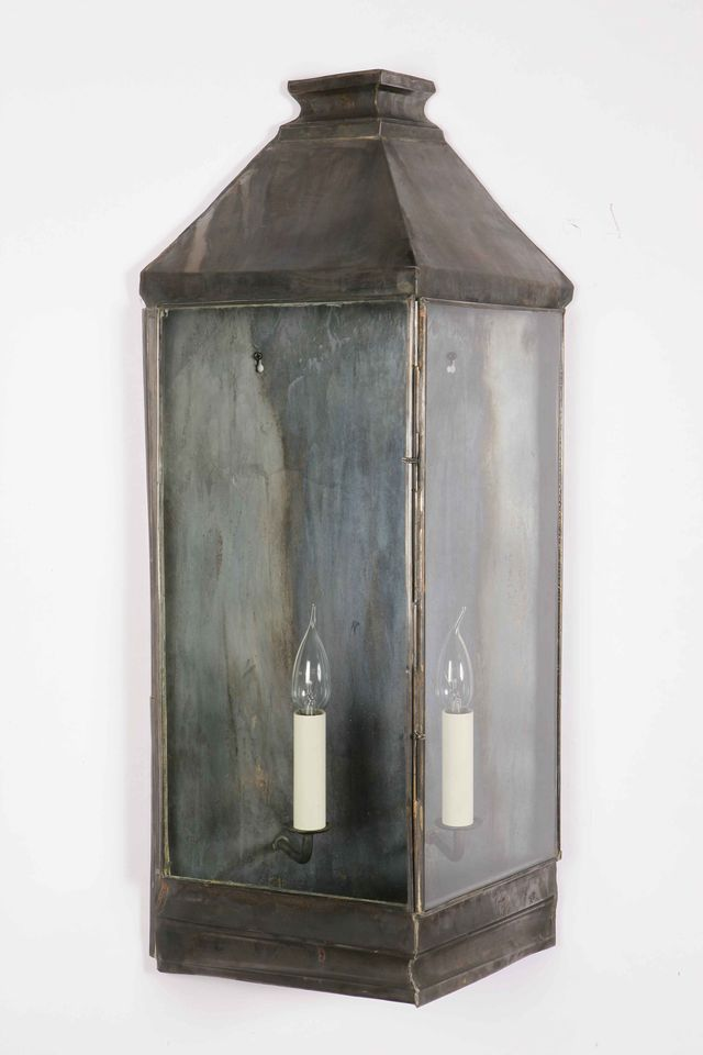 Wall Lights For Period Homes : Large Greenwich Wall lantern