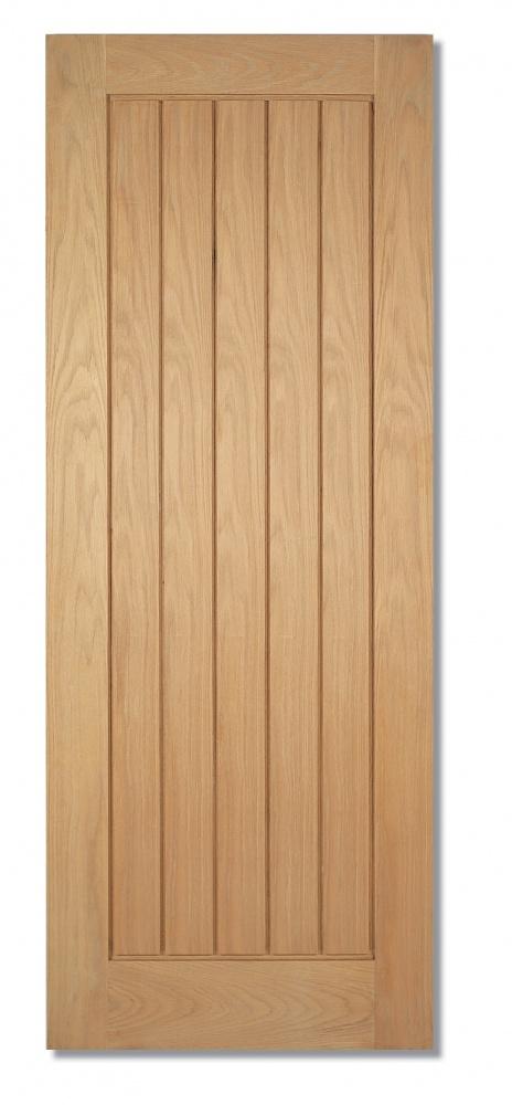Traditional Oak Internal Door Cotswold Fire