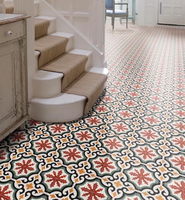 Encaustic Salisbury Pattern Tile