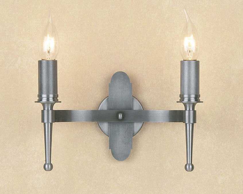 Twin Fixed Wall Lights : Smithbrook Blenheim Twin Wall Light