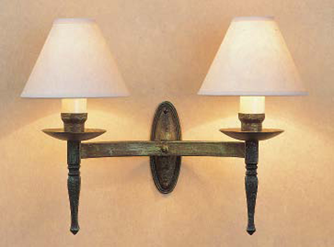 Twin Reading Wall Lights : Smithbrook Wentworth Twin Wall Light