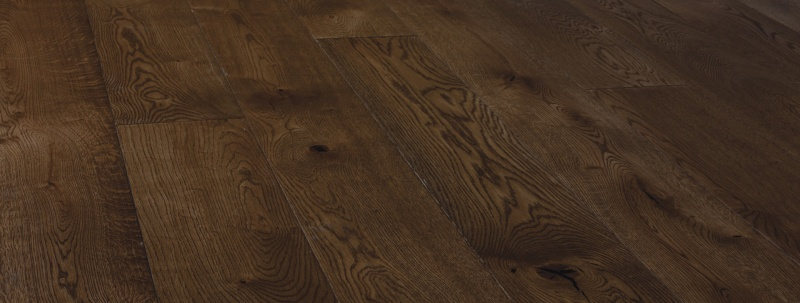 Rustic Toffee Stain Oak Engineered Flooring