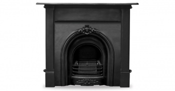 The Prince Cast Iron Fireplace Package
