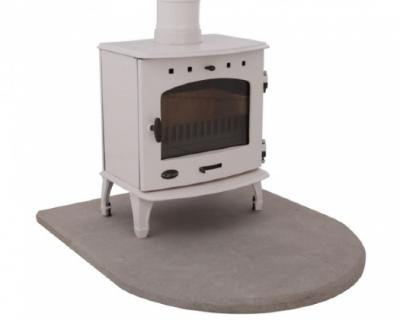 Sandstone Curved Stove Hearth