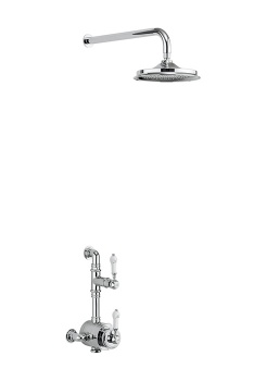Stour Thermostatic Exposed Shower Valve Single Outlet