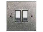 Finesse Double Rocker Switch Coverplate