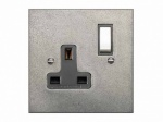 Finesse Single Wall Socket Coverplate