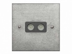 Finesse Double Aerial Socket Coverplate