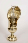 Lacemakers Brass Lamp