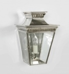 Nickel Pagoda Flush Lantern