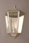 Nickel Windsor Passage Lamp