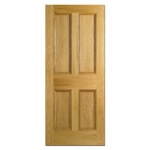 Traditional Oak Internal Doors - Traditional 4 Panel