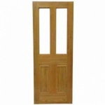 Parlour  Pitch Pine Door Unglazed